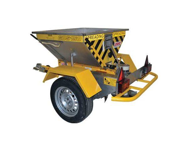 Strooiwagen aanhanger Logic GDS150R